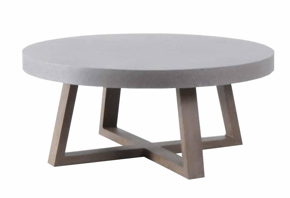 """UTA-42R 42"""" Round Coffee Table   42"""" dia x 19"""""""