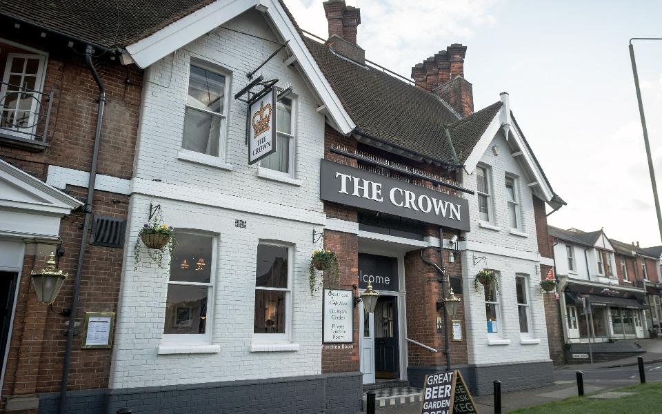 The Crown   144 - 146 Hatfield Road, St Albans, Herts, AL1 4JA   01727853347