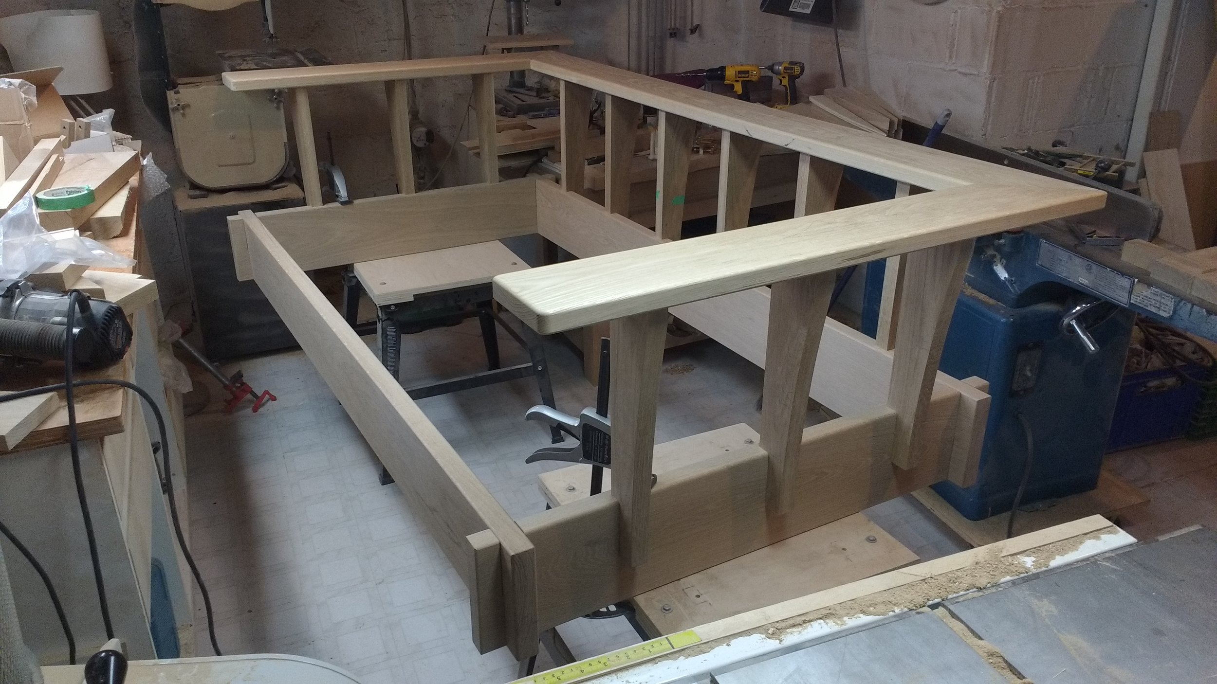 Porch swing/Day bed construction