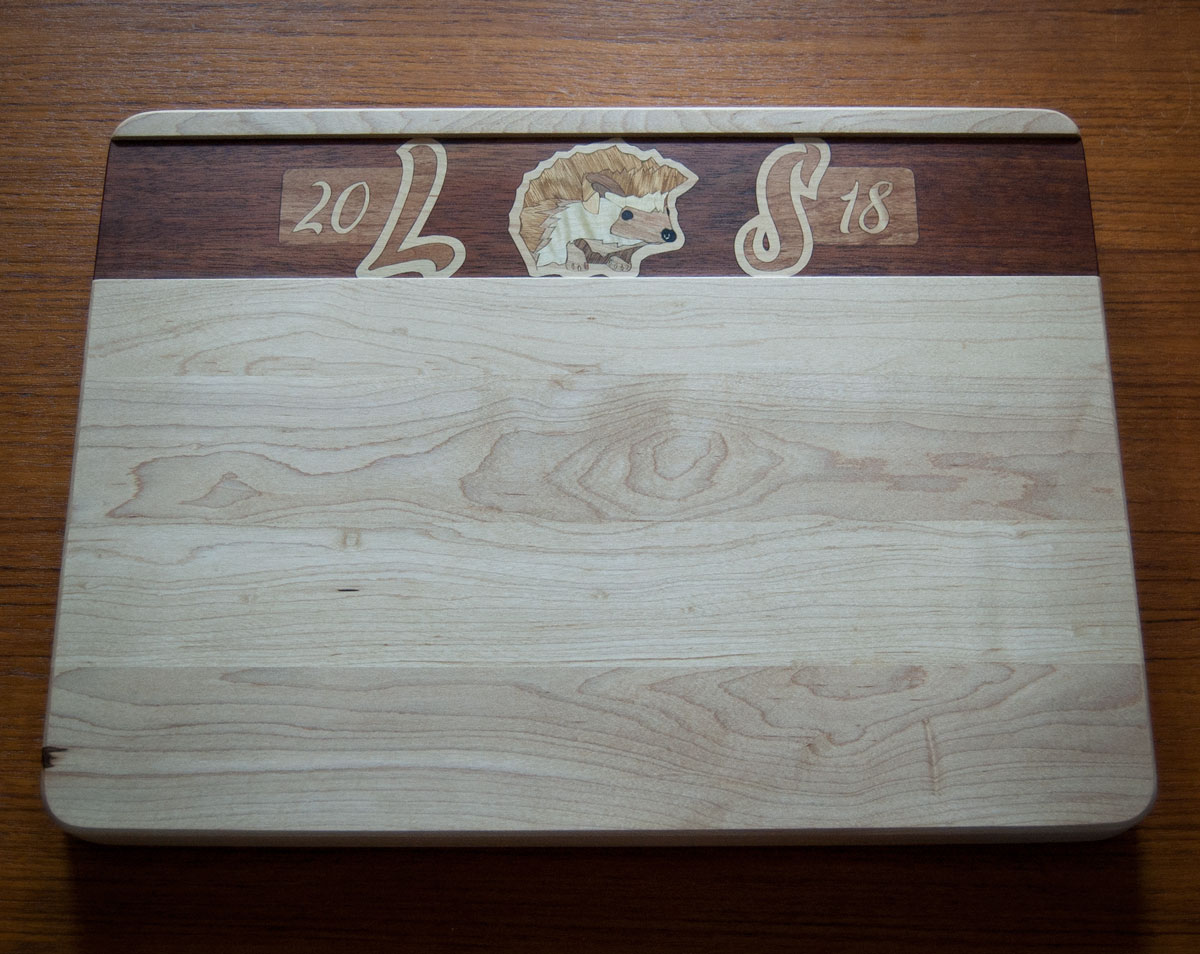 Commemorative cutting board