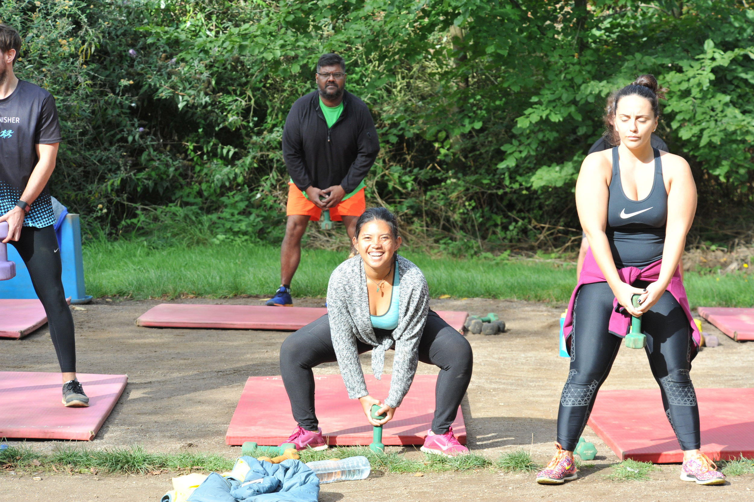 One of the workouts at the No1 bootcamp in Norfolk!
