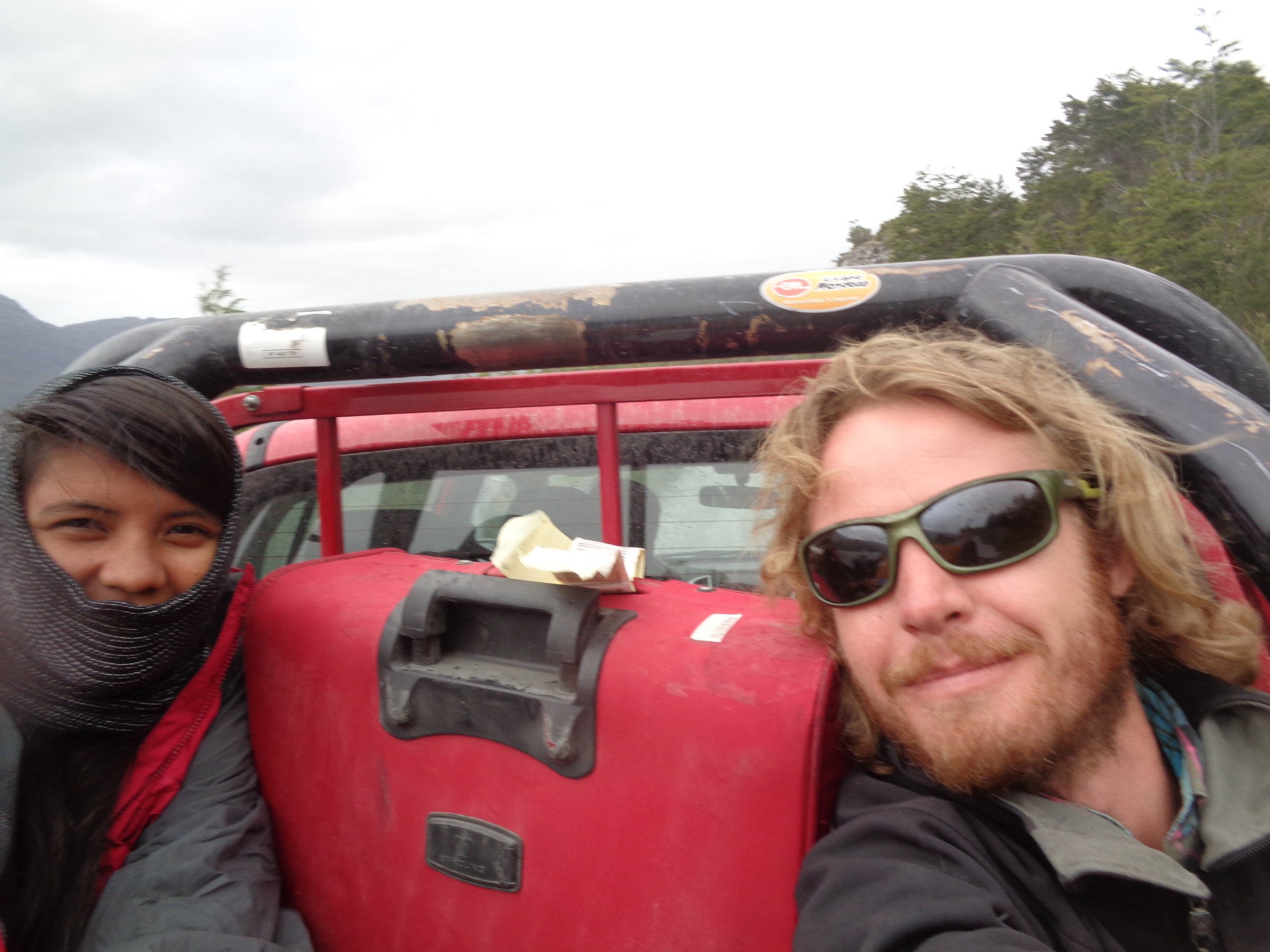 Hitchhiking in Patagonia, Chile