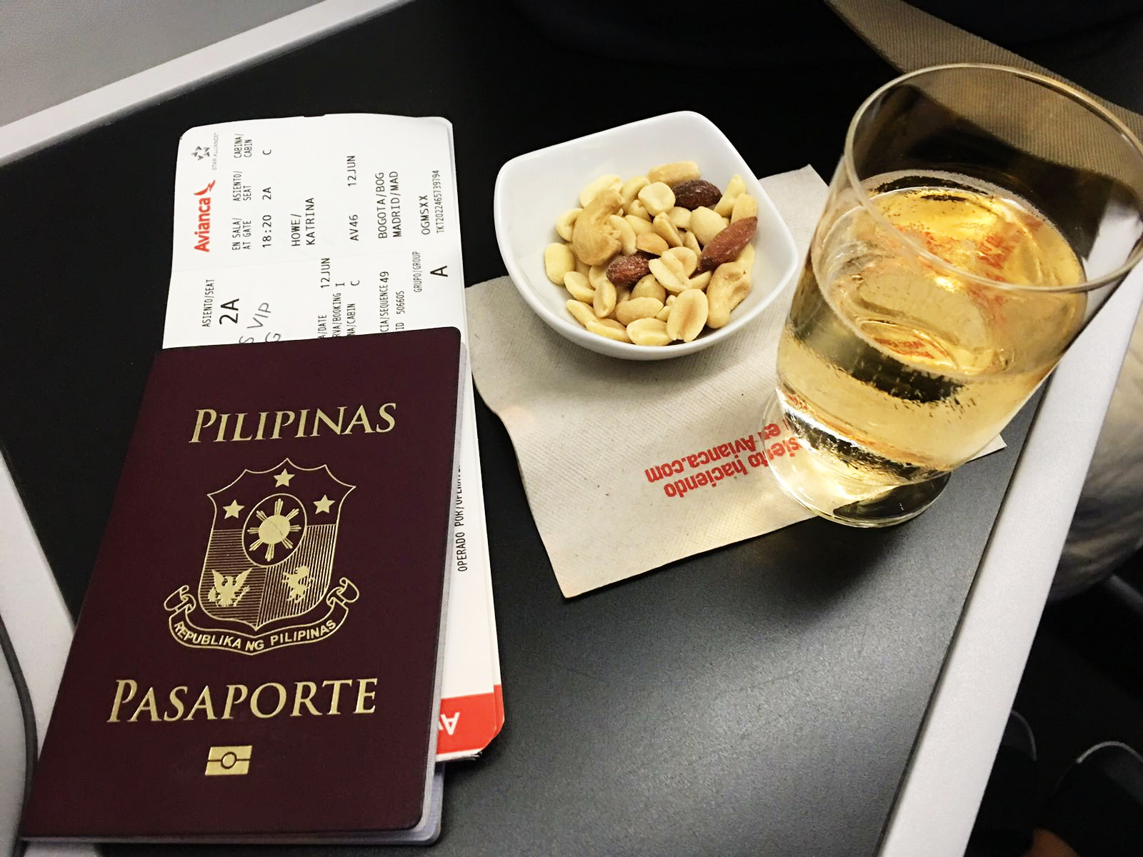 Business Class Experience with Avianca Airlines from Miami to Colombia to Madrid 11.jpg
