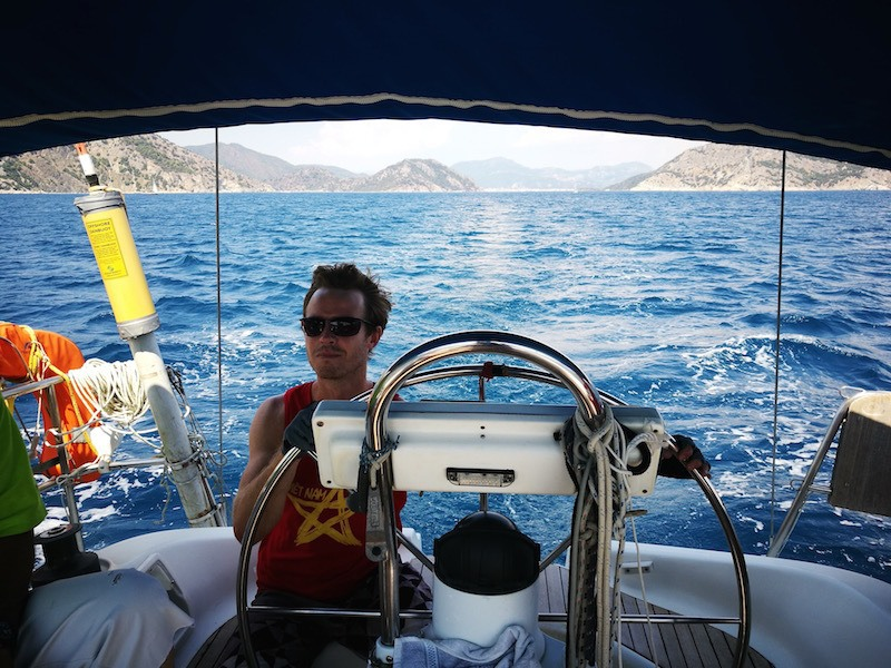 On the RYA Day Skipper sailing course in Turkey