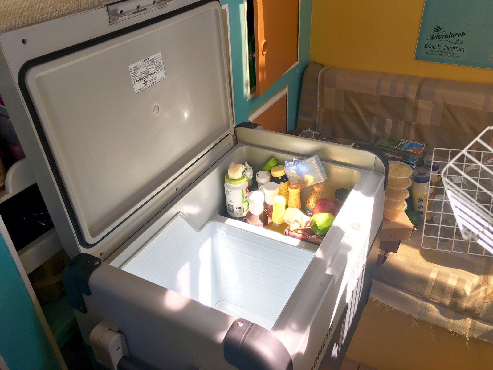 Refrigeration On A Sailboat: Our DOMETIC Fridge, The Pros And Cons
