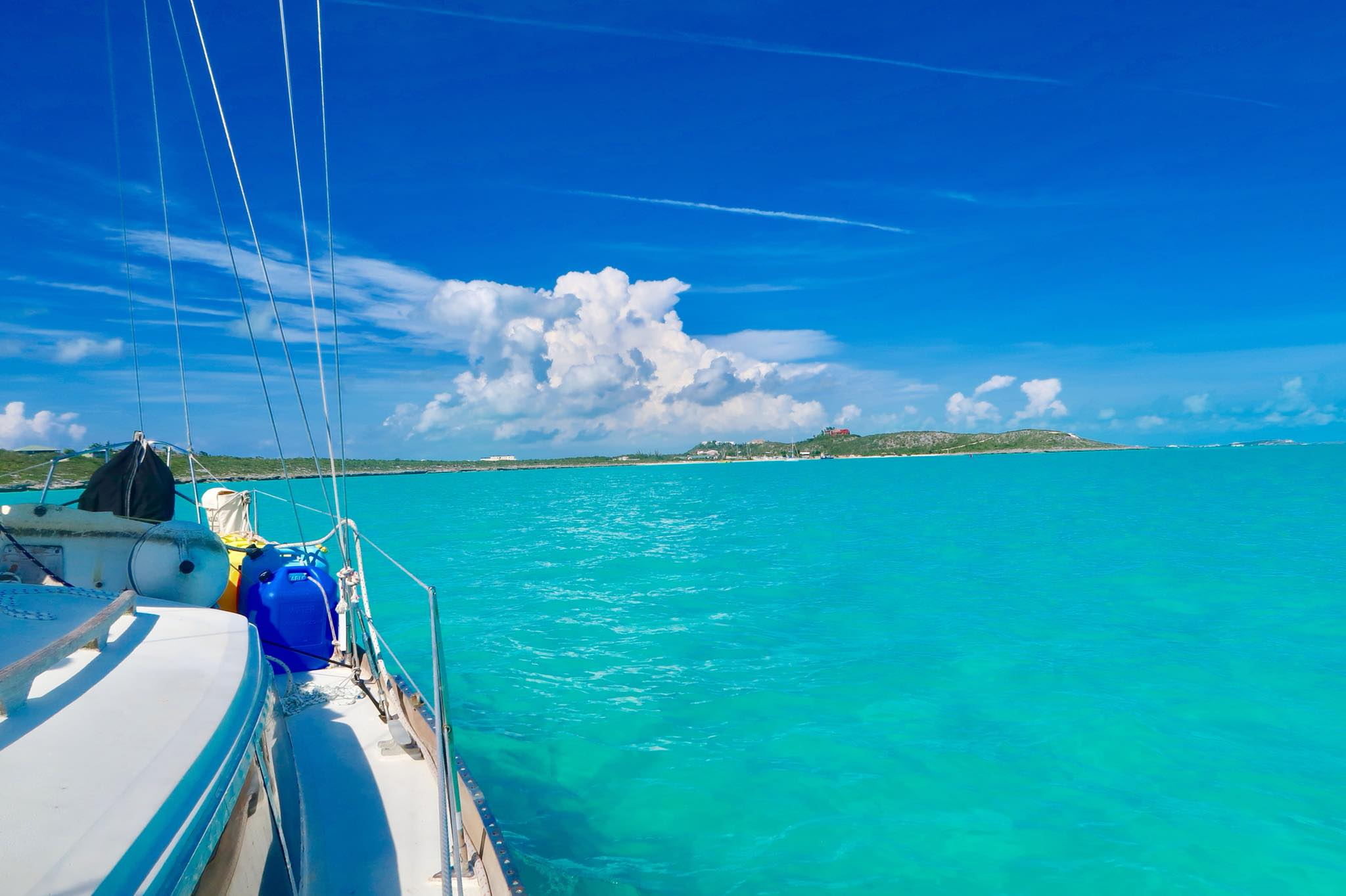 Sailing Life Day 43:  Detour! Emergency on Board while on Passage to Luperon! We sailed back up to Provo, Turks & Caicos
