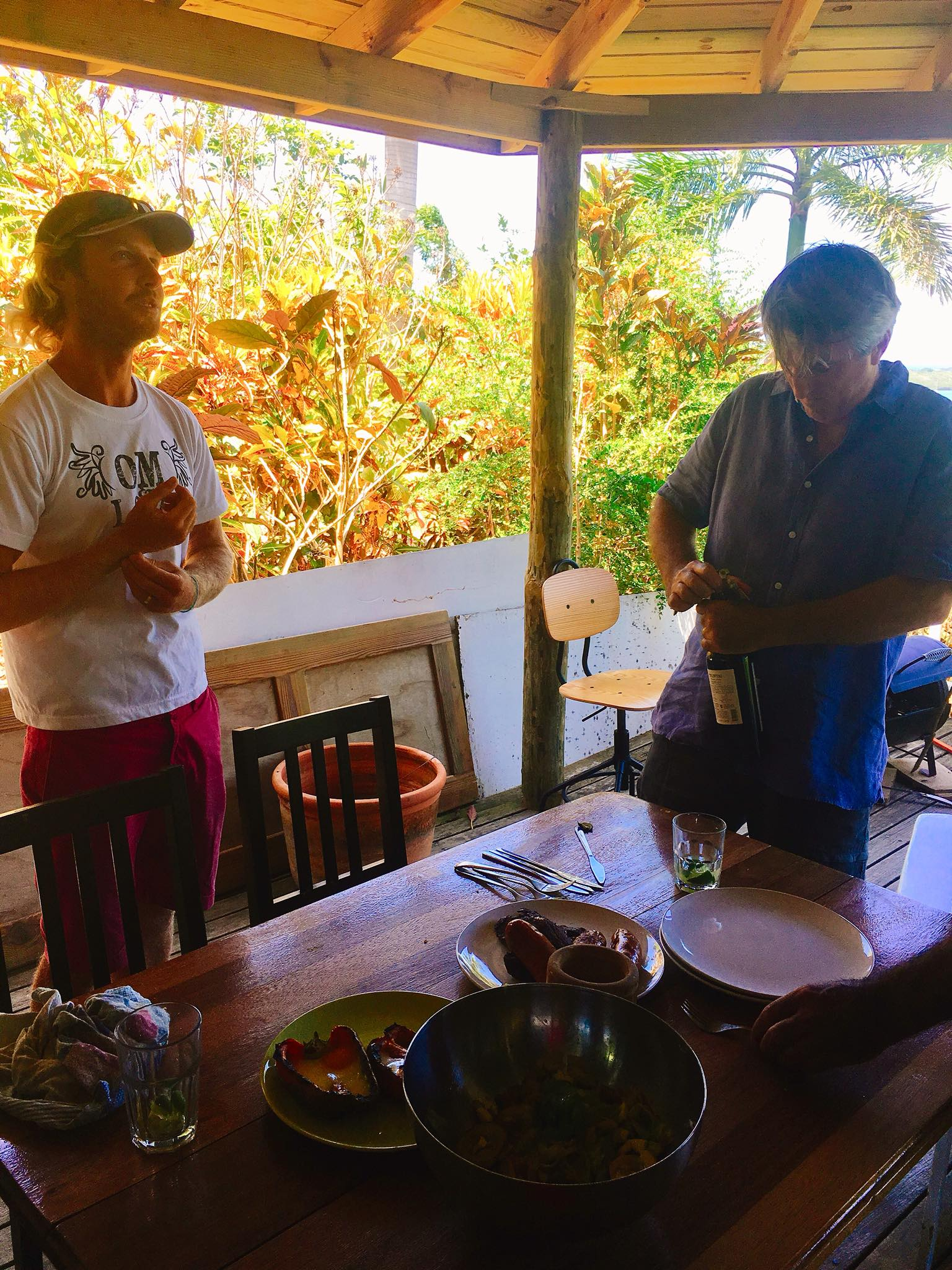 Sailing Life Day 65: Yoga and Argentinian Asado for Lunch in Luperon