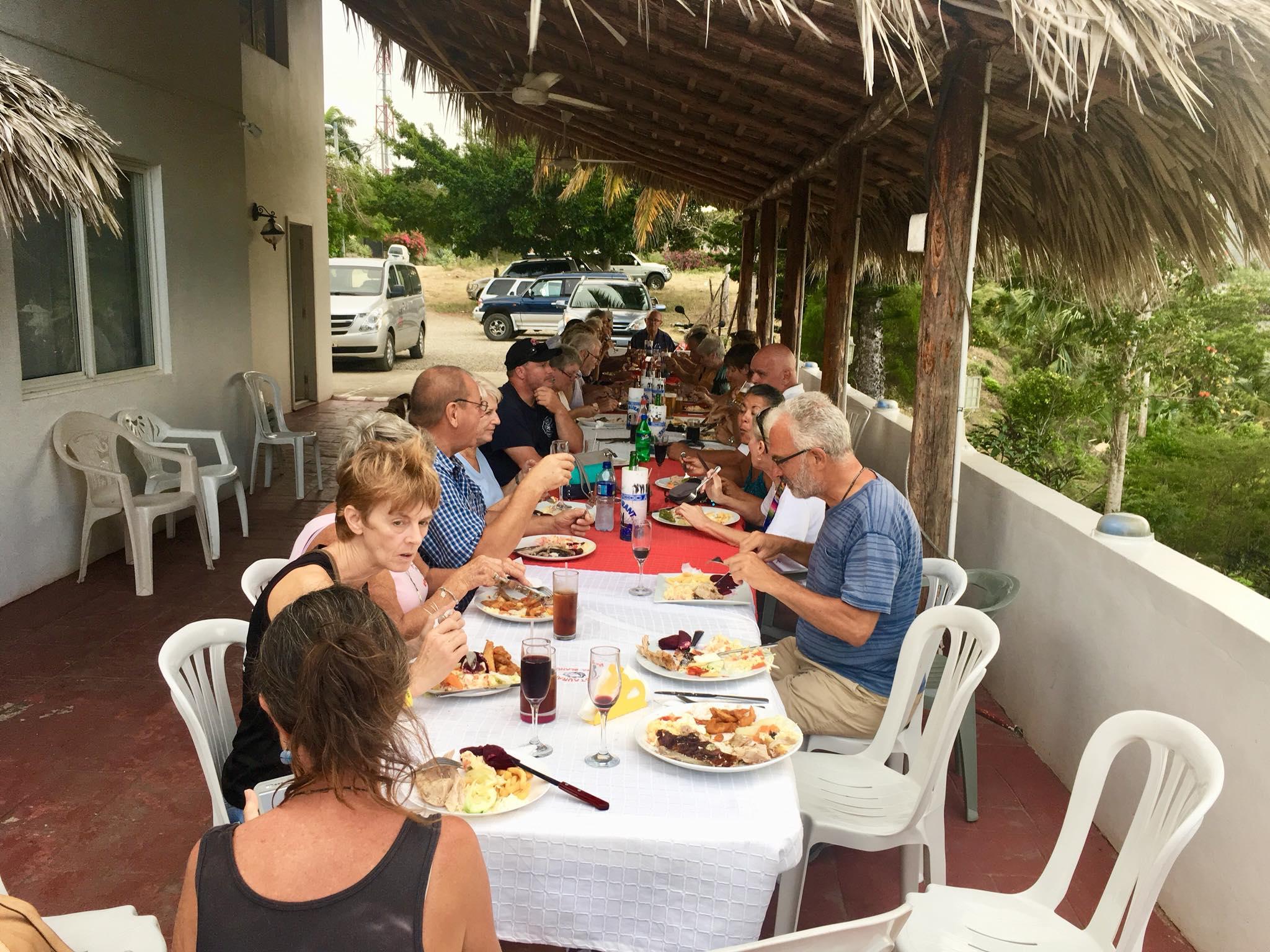Liveaboard Life Day 91: Saturday Fundraising Gathering in Casa Blanca Restaurant