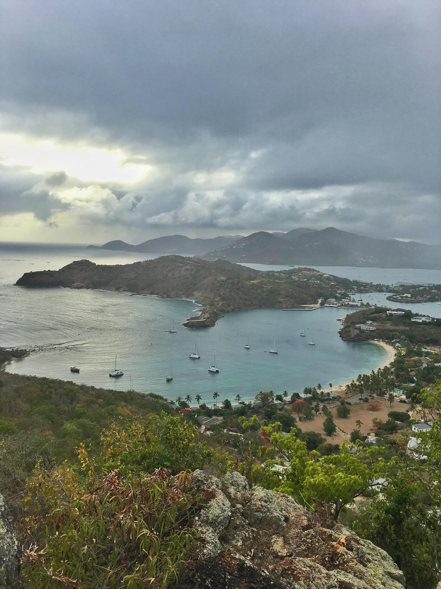 Kach Solo Sailing Adventures: Arrival in Antigua (country # 104)