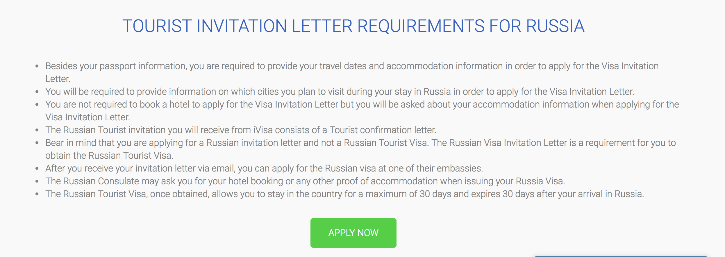 How To Get A Russian Tourist Visa For Philippines Passport