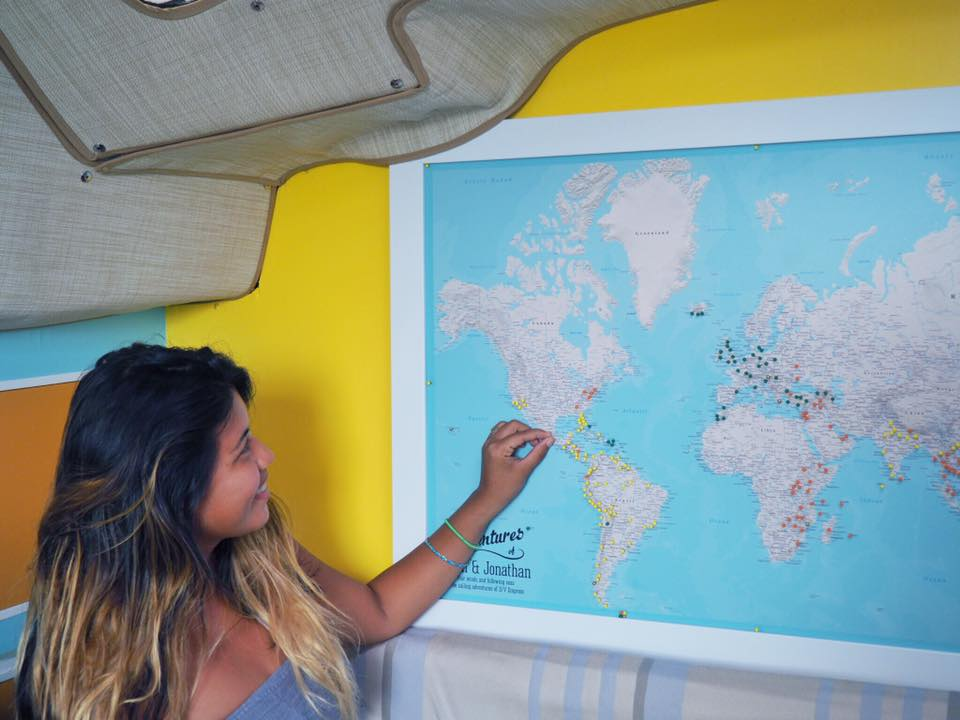 Push Pin Travel Maps : The Perfect Gift For A Traveler