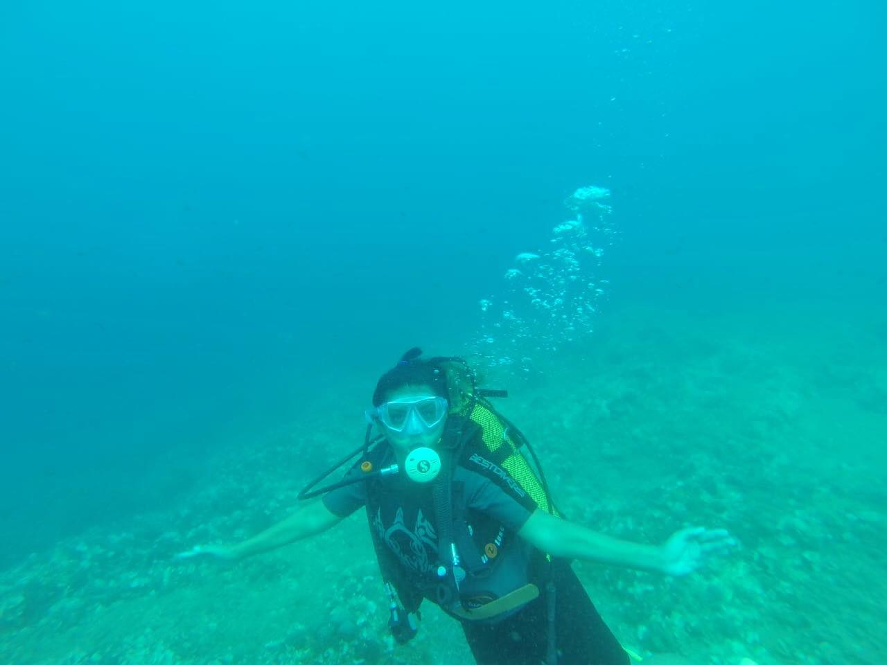 Kach Solo Travels Day 9: Scuba Diving in Herceg Novi, Montenegro with Diving Montenegro Herceg Novi!