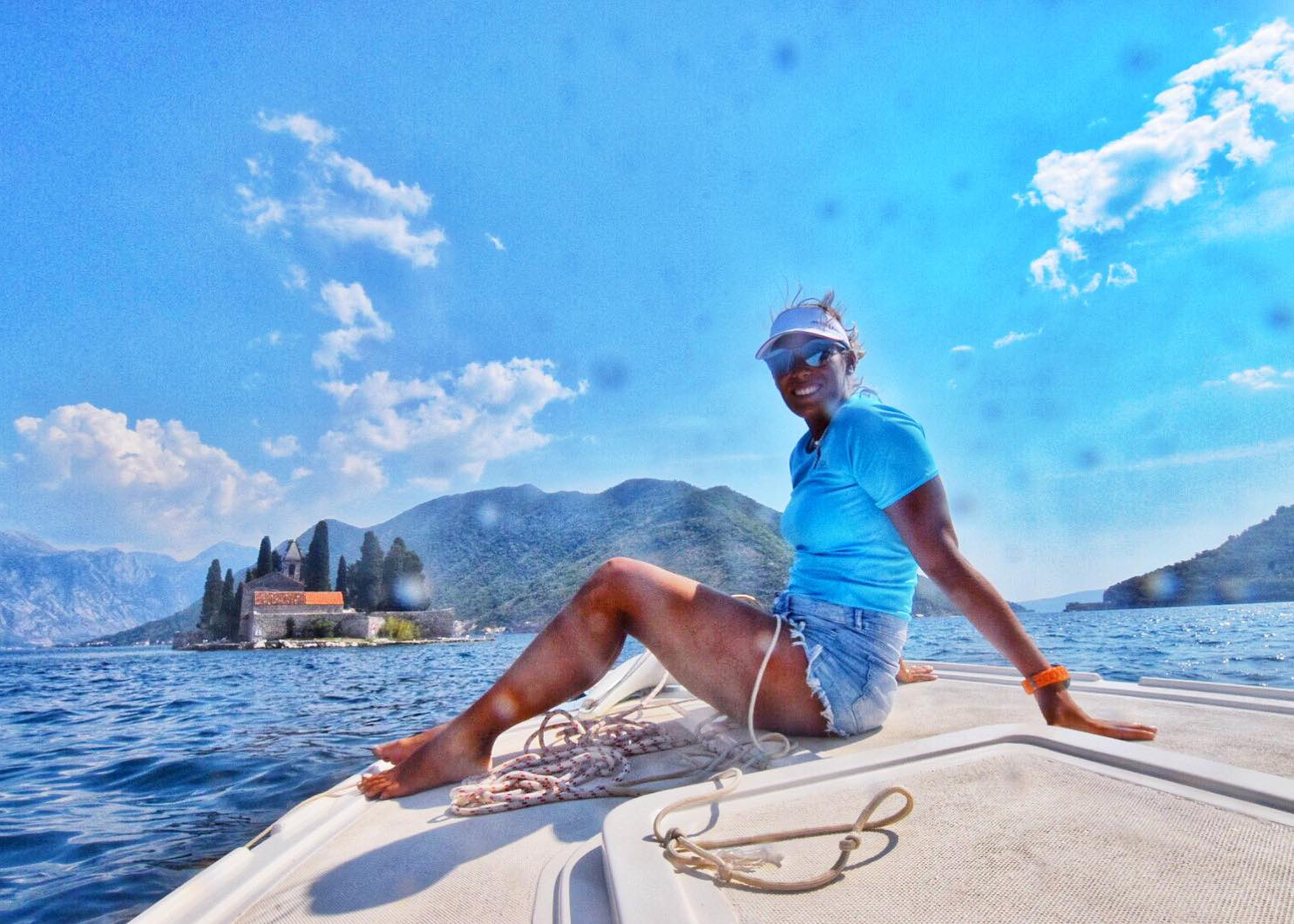 Kach Solo Travels Day 10: Boat Tour, Kayak and SUP Paddleboarding in Herceg Novi, Montenegro!⛵️