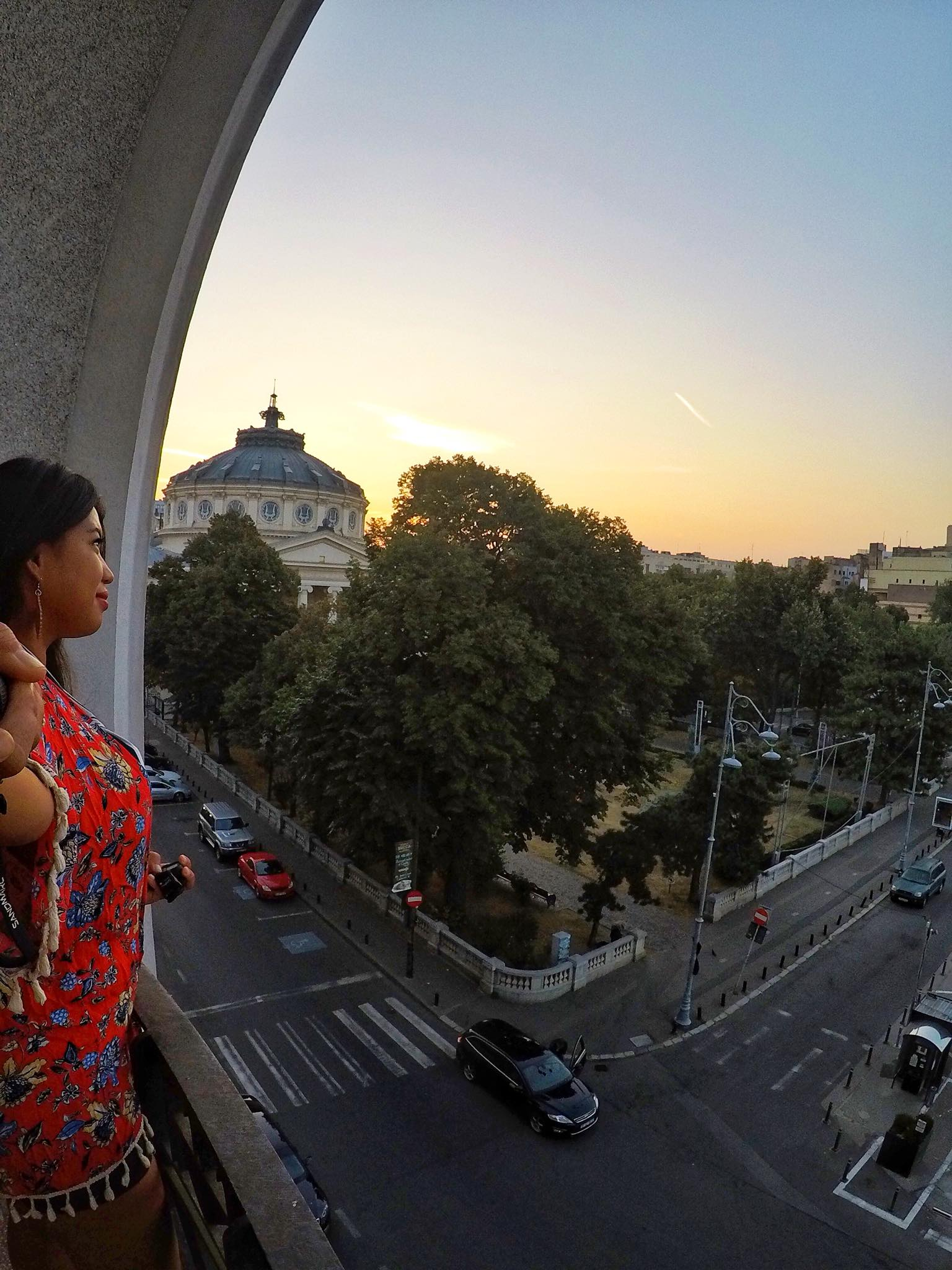 Kach Solo Travels Day 17: Made it to my country #106 - ROMANIA!