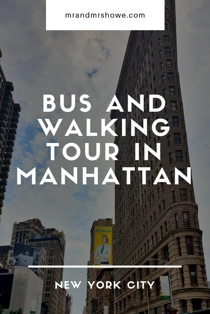Kach Solo Travels Day 2: Bus and walking Tour in Manhattan
