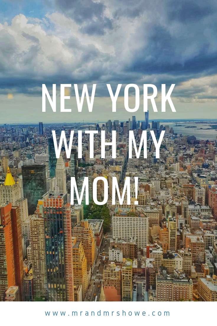 Kach Solo Travels Day 3 New York with my Mom!