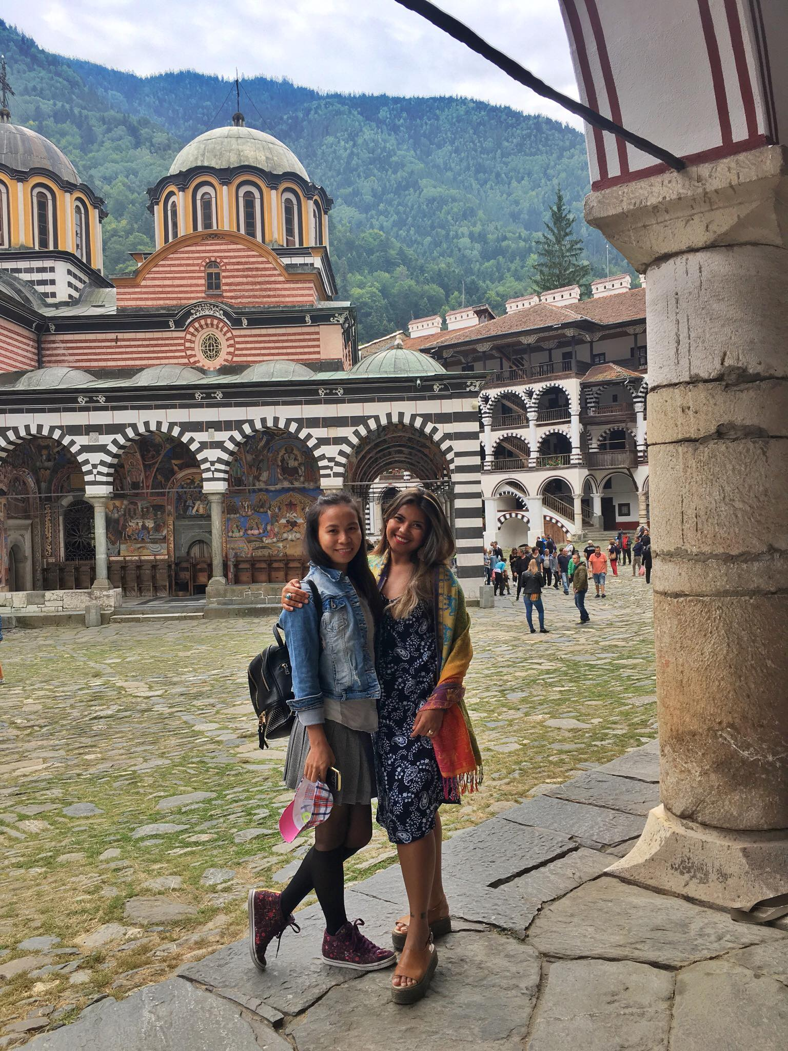 Kach Solo Travels Day 24: Meet up with a blog reader and a Roadtrip to RILA MONASTERY in Bulgaria