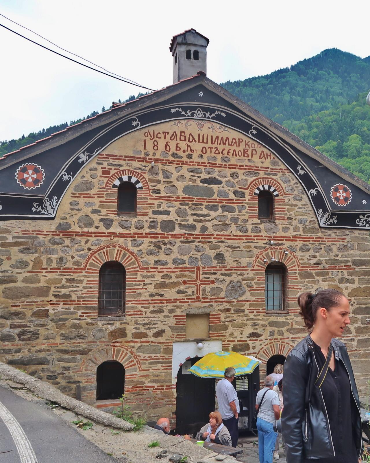 Meet up with a blog reader and a Roadtrip to RILA MONASTERY in Bulgaria