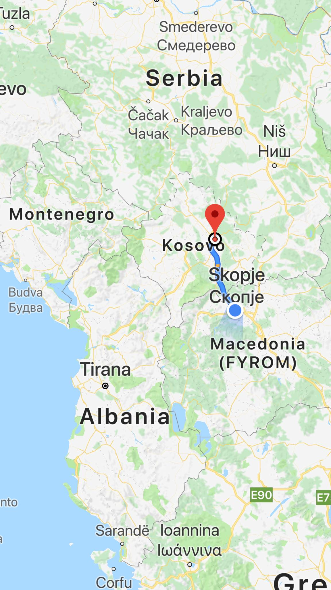 Kach Solo Travels Day 27: Made it to KOSOVO - country #109 for me