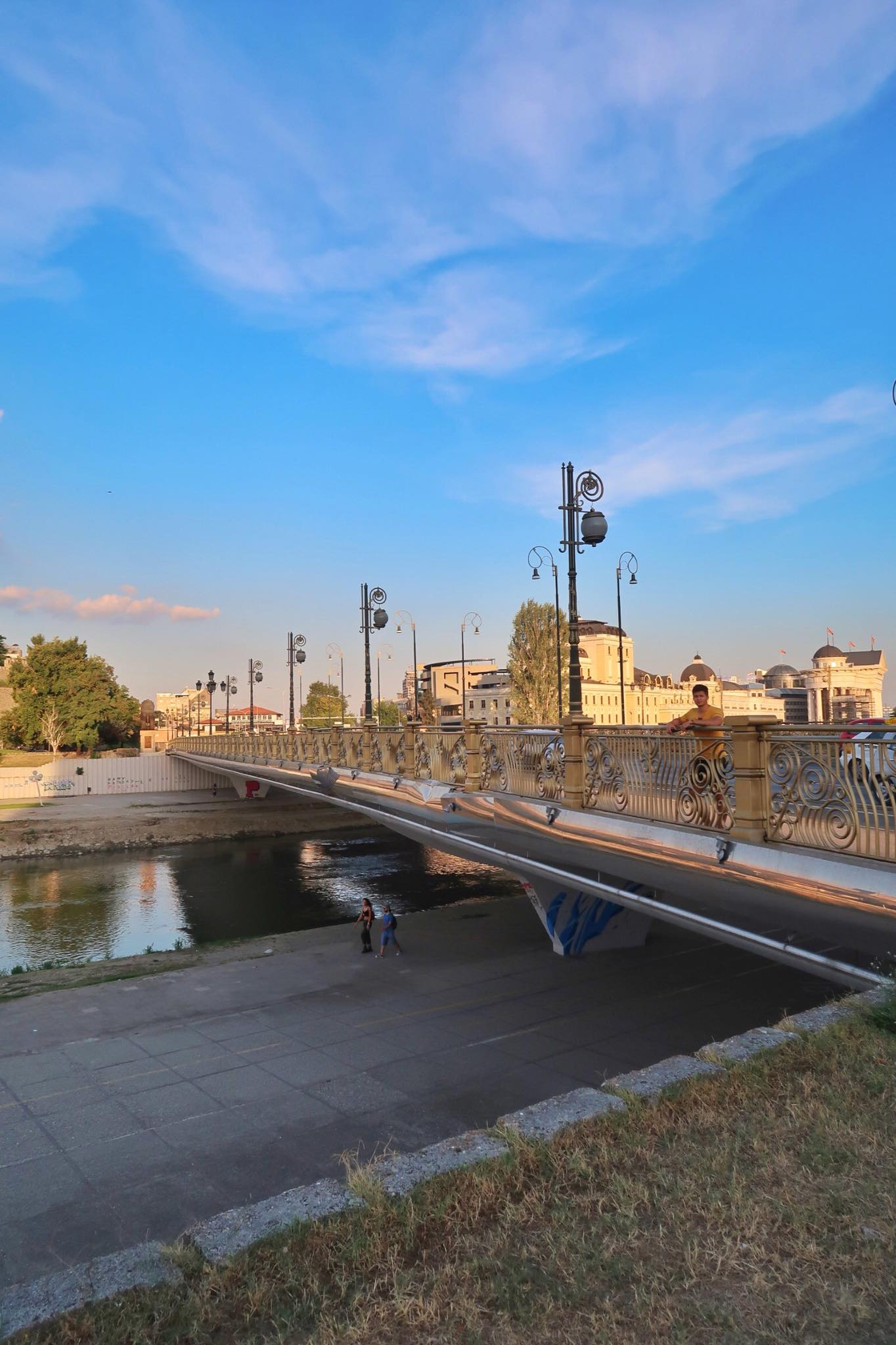 Kach Solo Travels Day 26: Walking Around the Beautiful City Centre of Skopje, Macedonia