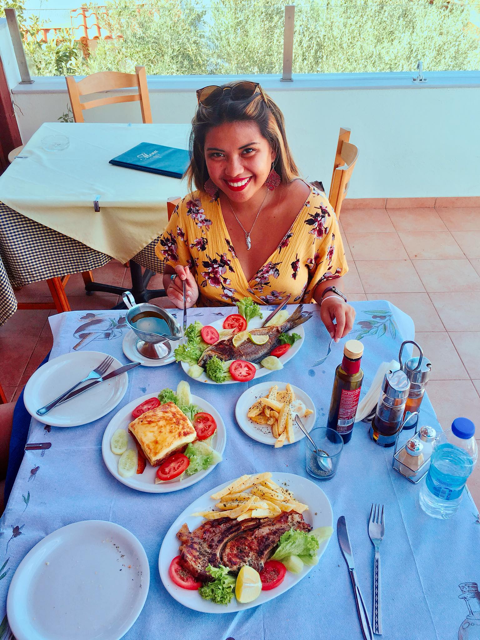 Kach Solo Travels Day 32 - 35: Food Trip in Crete, Greece 😍