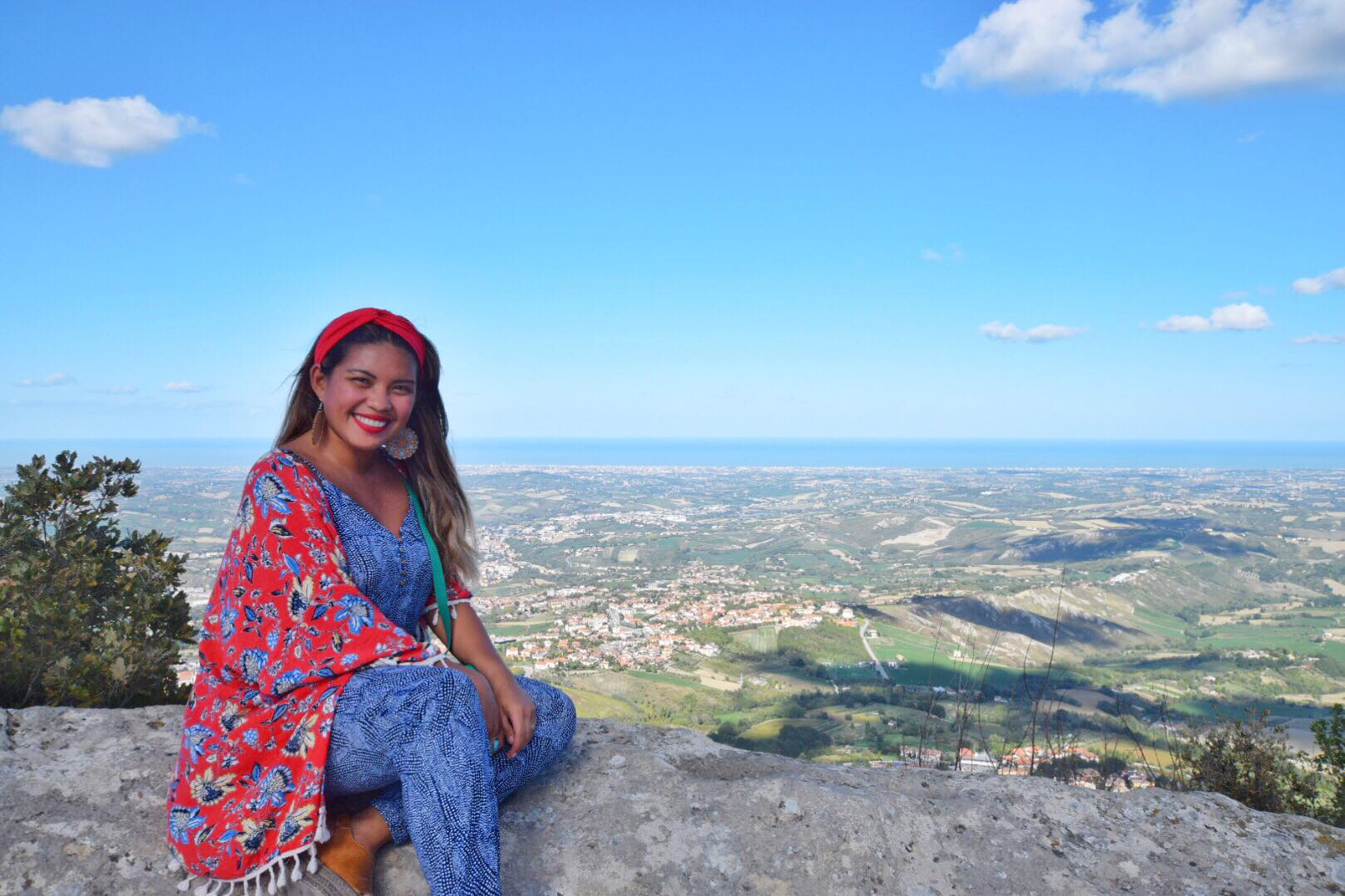 Kach Solo Travels Day 42: Hello from San Marino, my country 114! ❤️