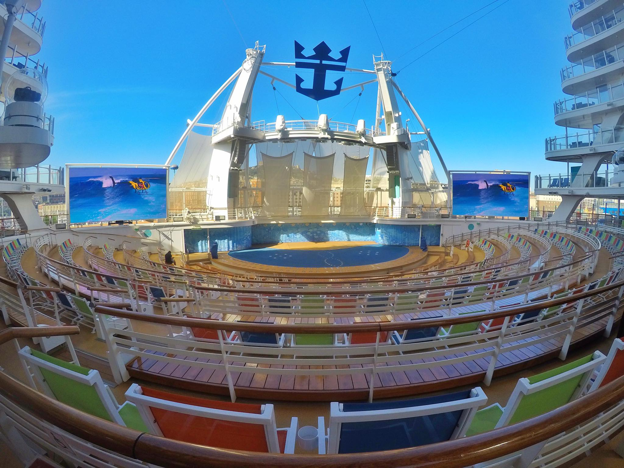 Kach Solo Travels Day 45: Day Pass Experience with Royal Caribbean's Symphony of the Seas in Naples, Italy