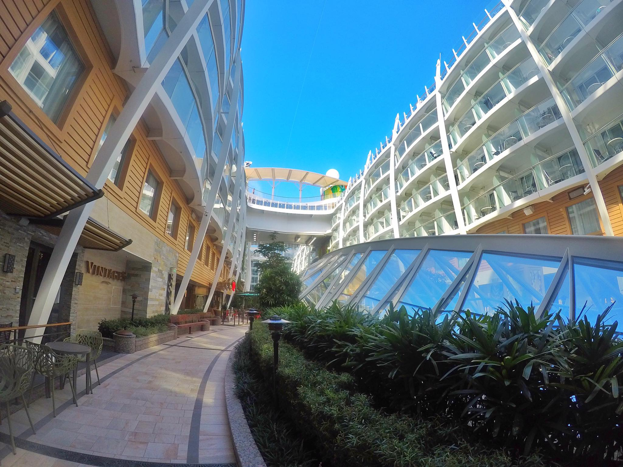 ace with Royal Caribbean's Symphony of the Seas in Naples, Italy