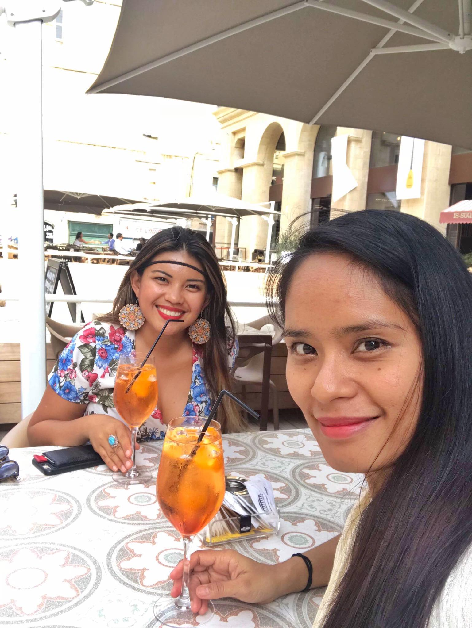 Kach Solo Travels Day 47: Lunch with a Blog reader in Valletta, Malta