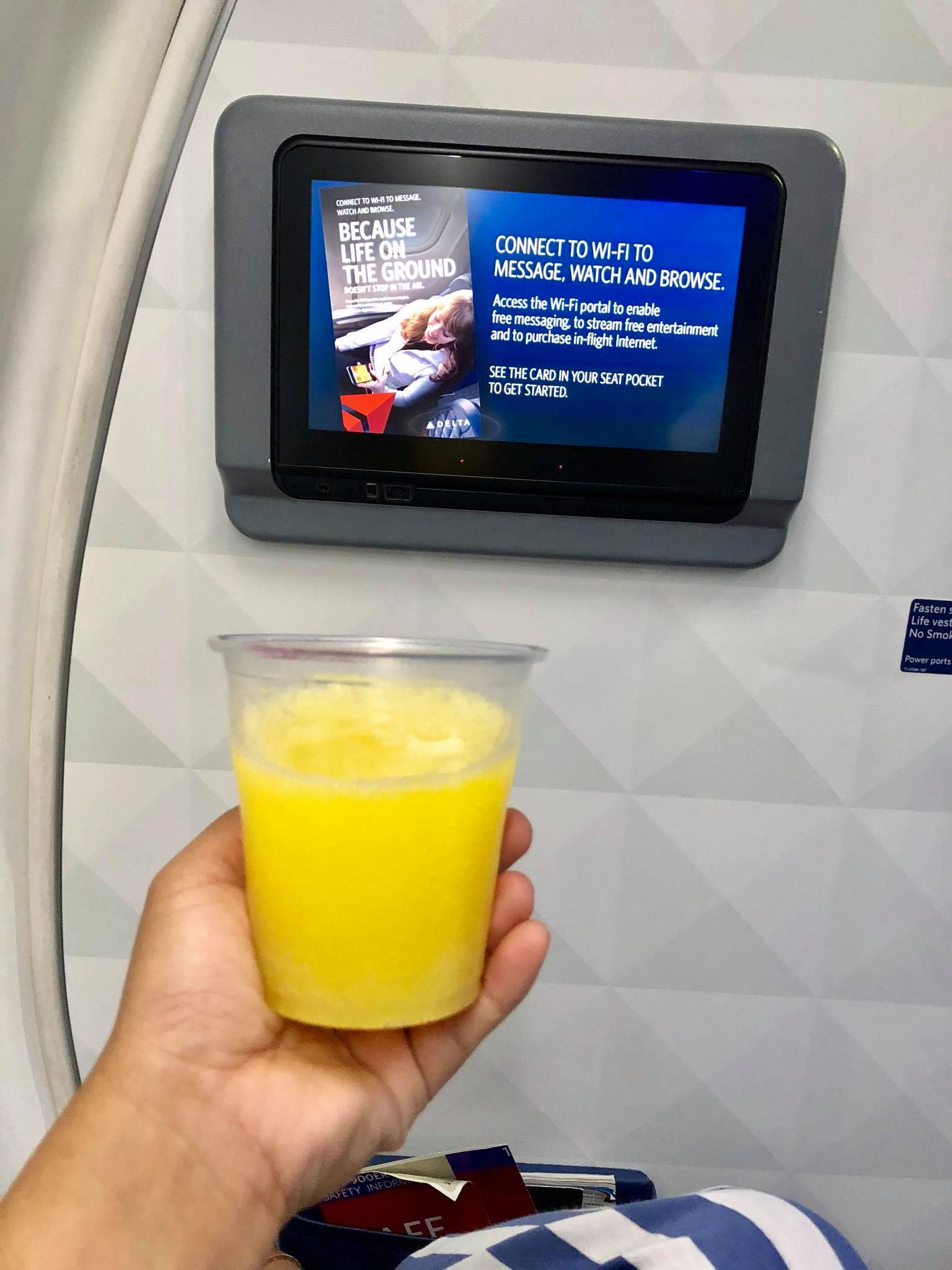 Kach Solo Travels Day 70: Flying First Class with Delta Airlines from New York to Santiago, Dominican Republic