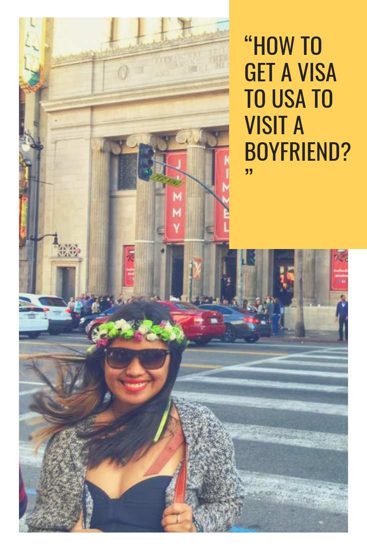 """""""How to Get a Visa to USA to Visit a Boyfriend"""" My Tips & 16 Common Consul Interview Questions on How Best To Answer Them.png"""