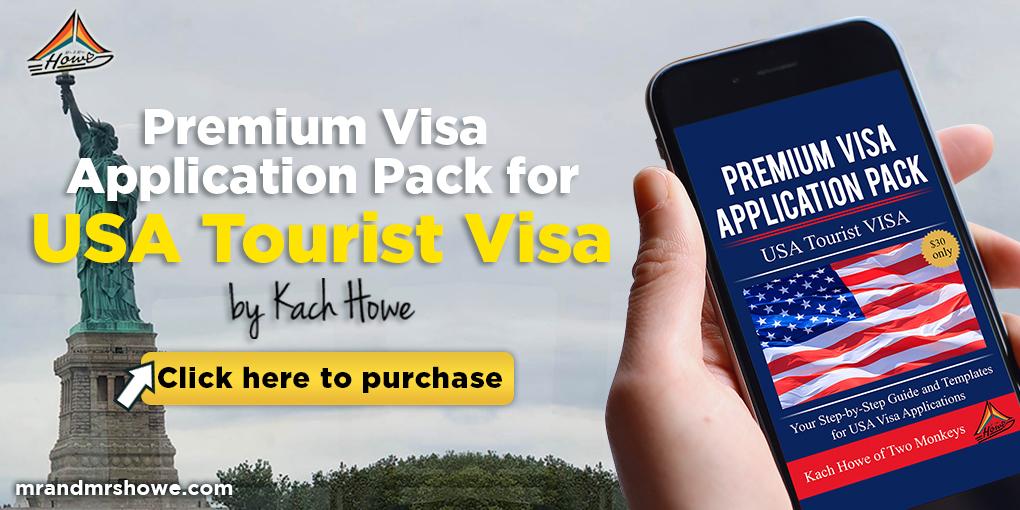 PREMIUM USA TOURIST VISA PACK
