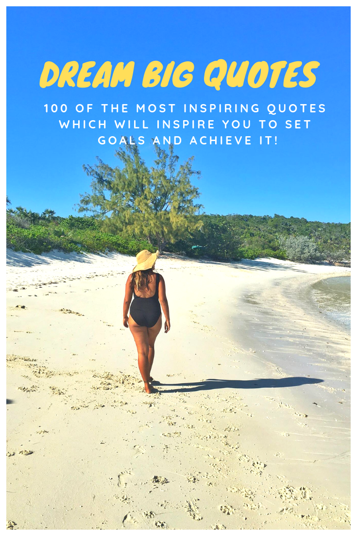 DREAM BIG QUOTES 100 Of The Most Inspiring Quotes Which Will Inspire You To Set Goals And Achieve It.png