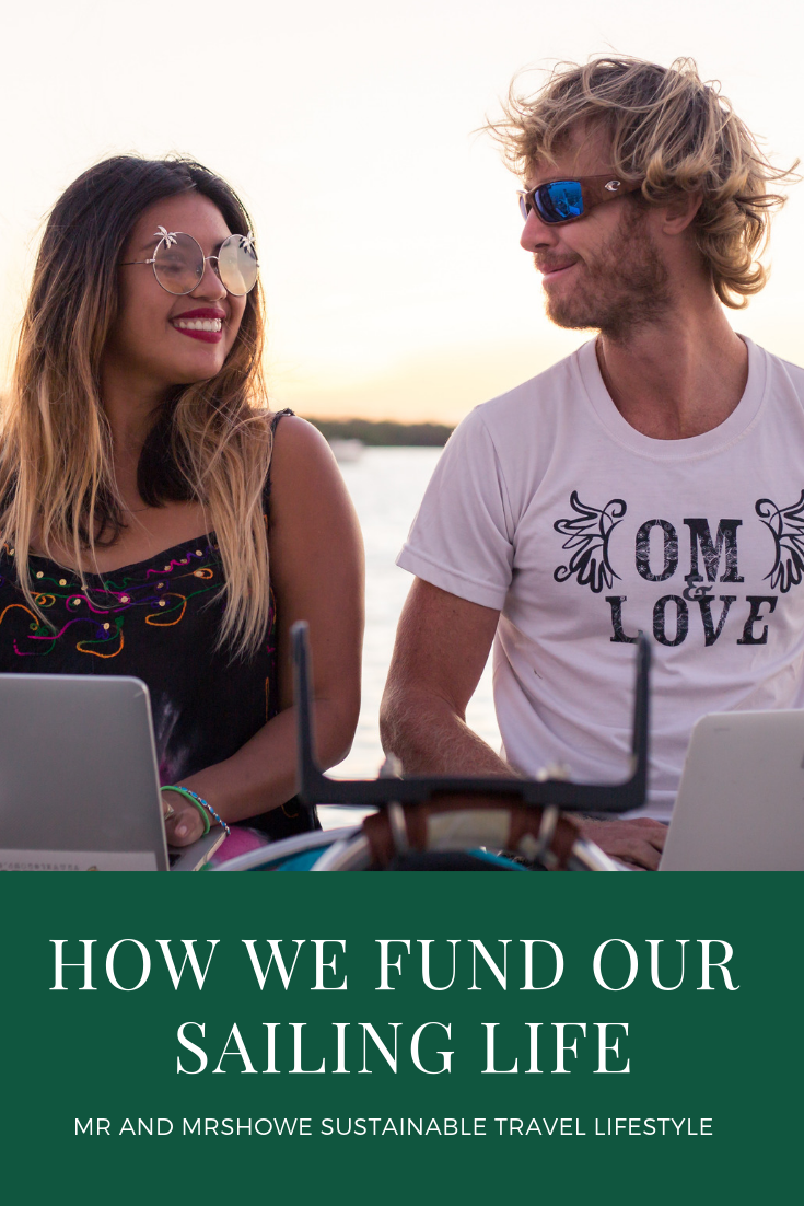 How We Fund our Sailing Life- Mr and MrsHowe Sustainable Travel Lifestyle1.png