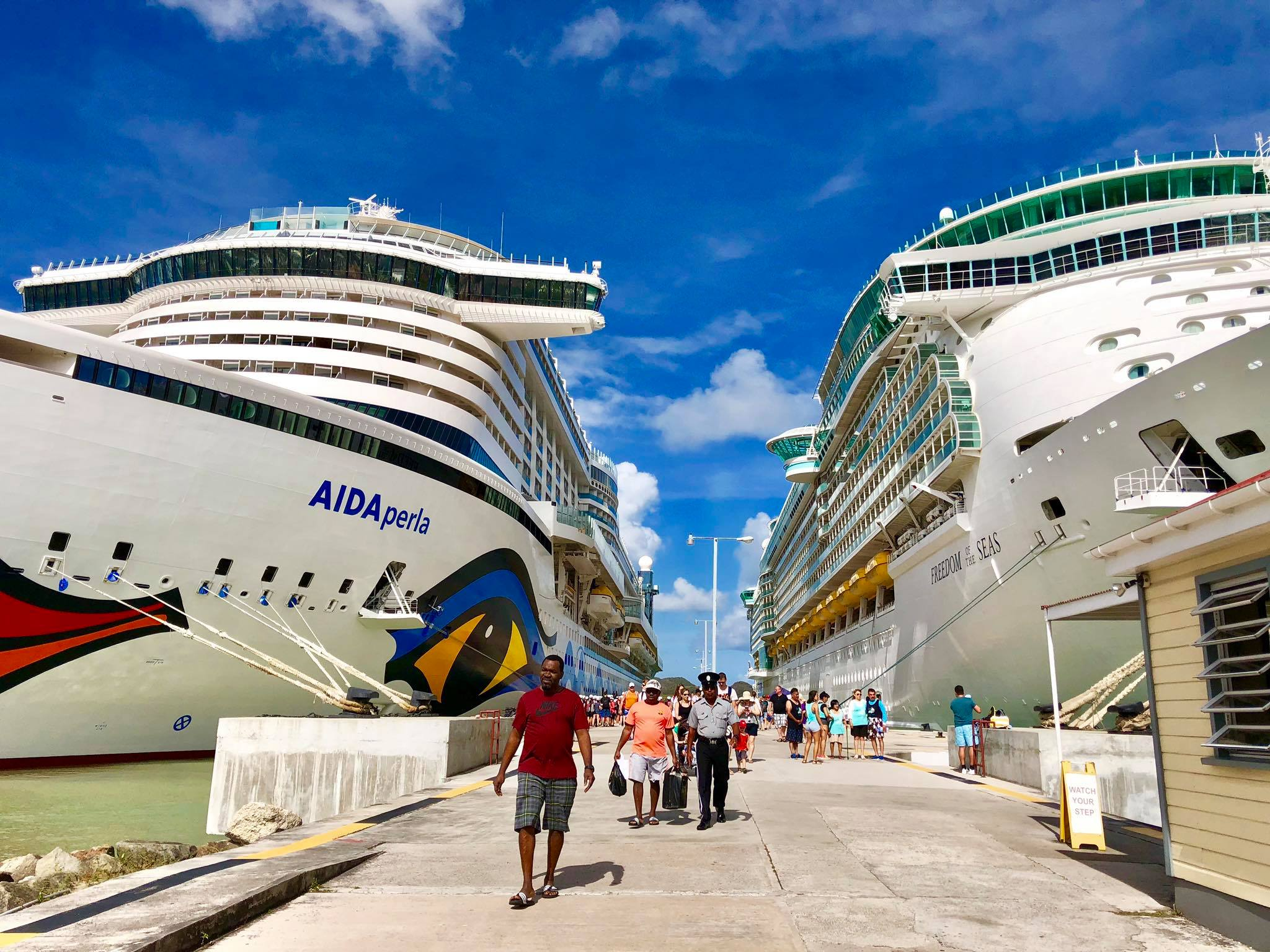 Kach Solo Travels in 2019 Second stop of the cruise is Antigua.jpg