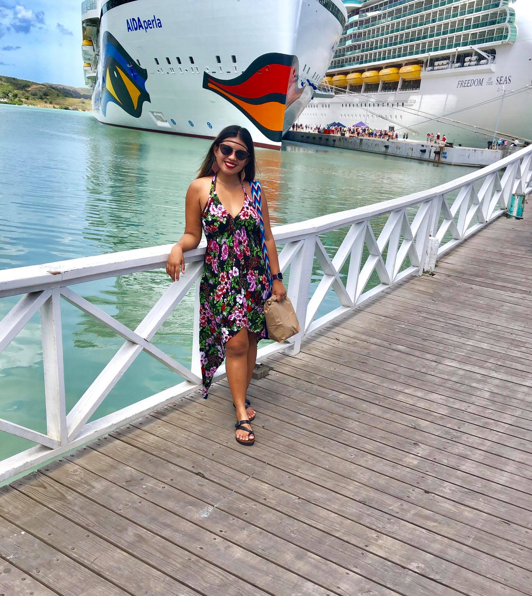 Kach Solo Travels in 2019 Second stop of the cruise is Antigua1.jpg