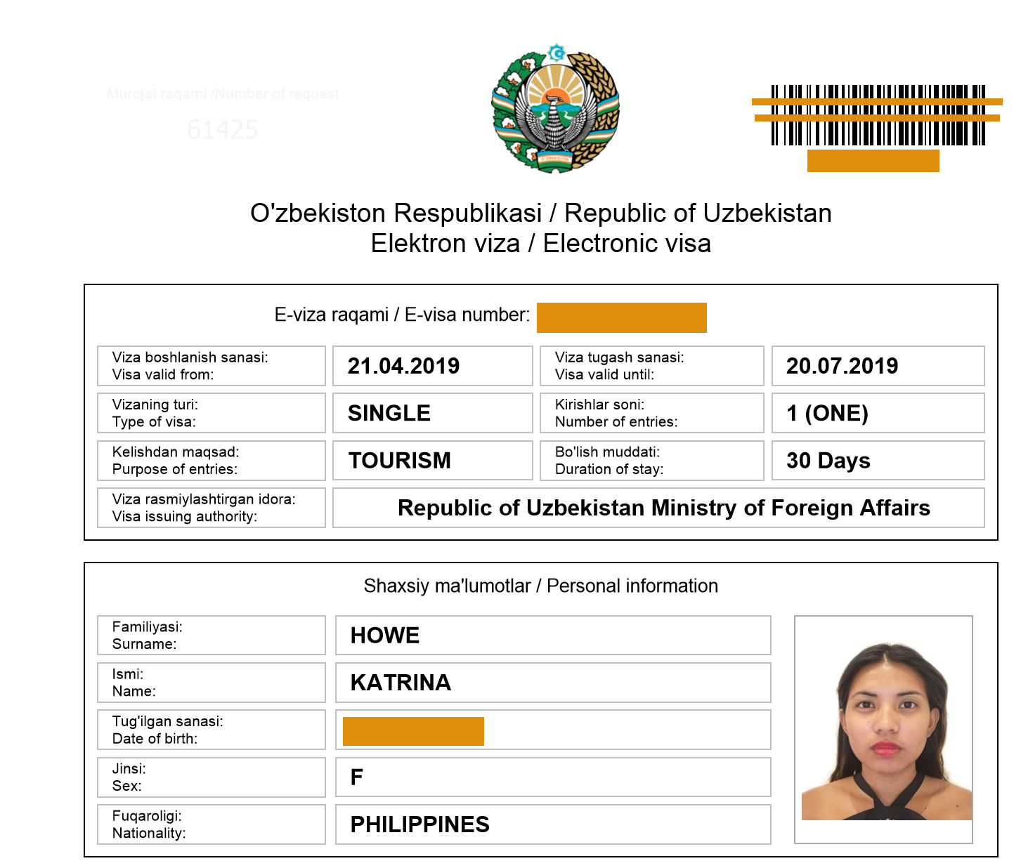 How Philippines Passport Holder Can Apply For A Tourist Visa To Uzbekistan.png