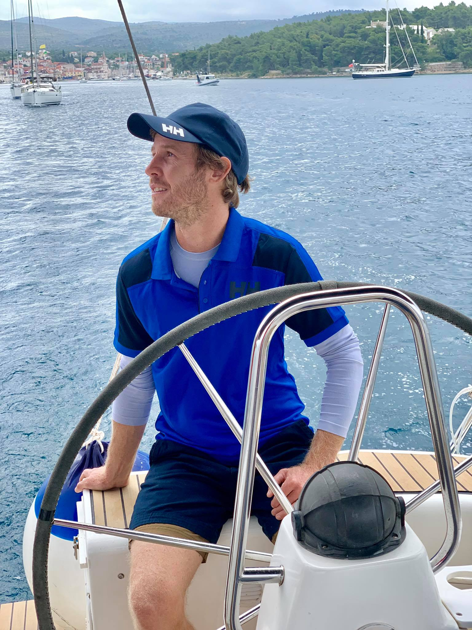 Life On The Road Day 31 Sailing today in Brac Island with Orvas Yachting.jpg