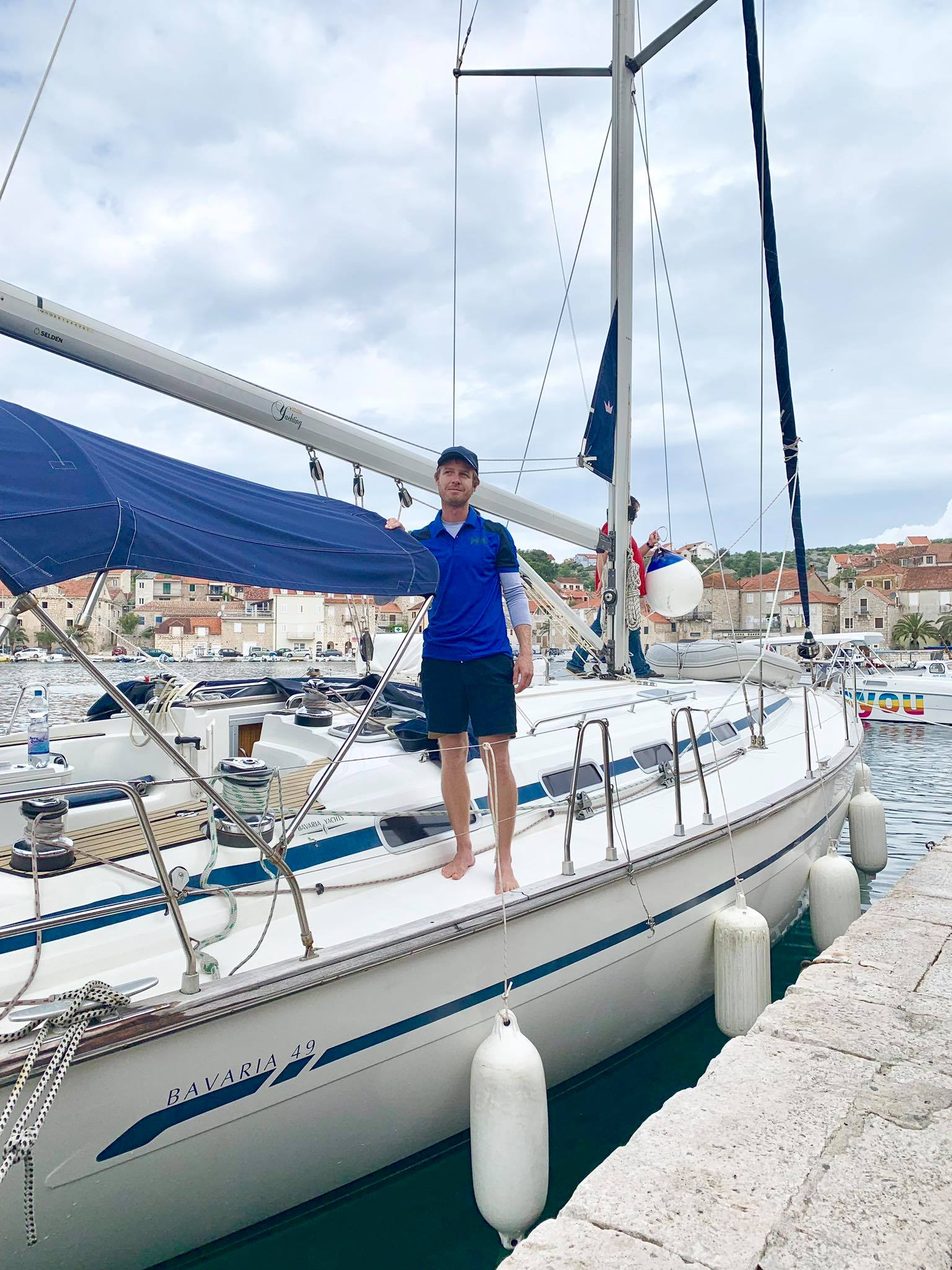 Life On The Road Day 31 Sailing today in Brac Island with Orvas Yachting5.jpg