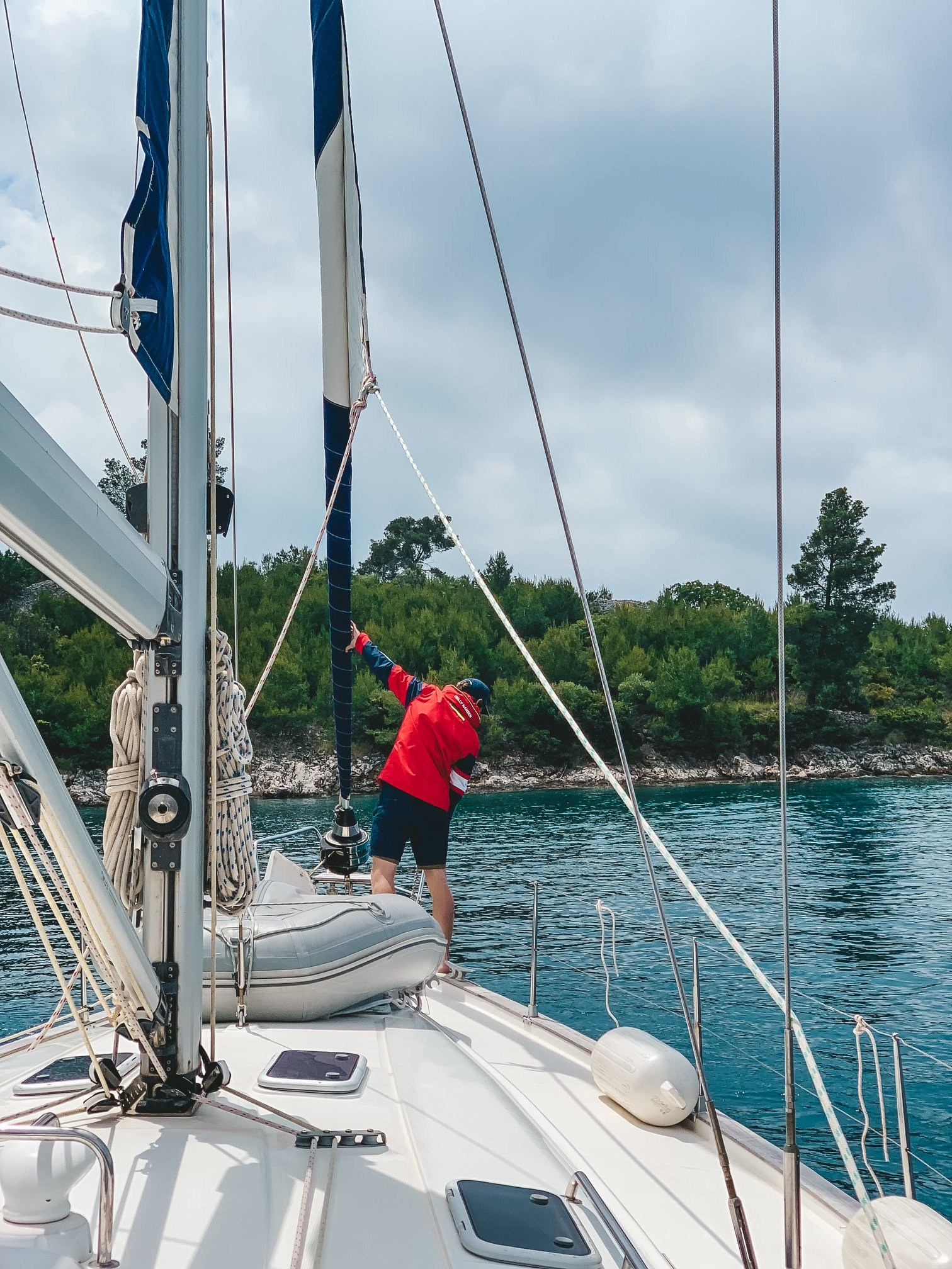 Life On The Road Day 32 Sailing in Milna, Brac Island7.jpg