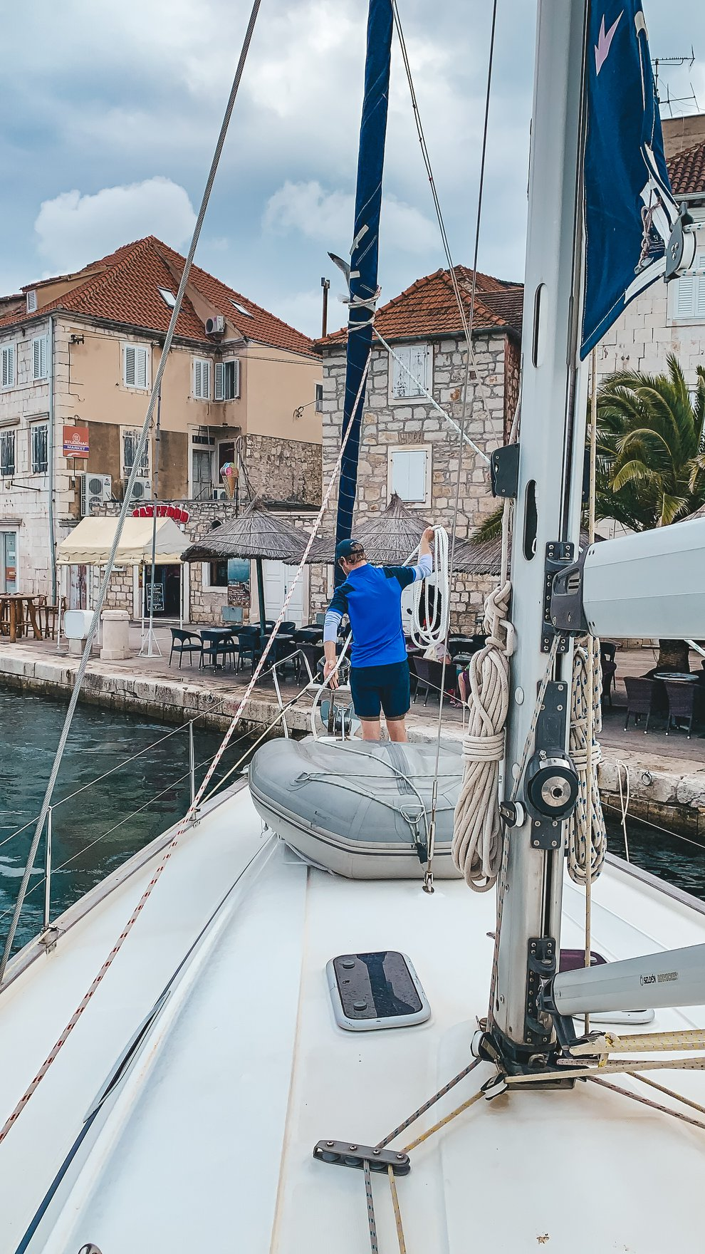 Life On The Road Day 32 Sailing in Milna, Brac Island30.jpg