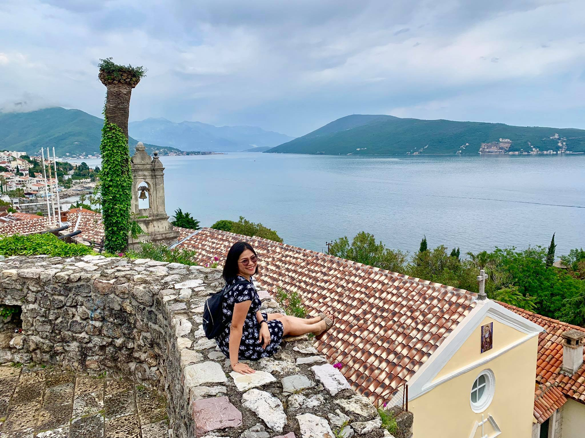 Expat Life in Montenegro Day 3 We have our first visitor already in our new home here in Herceg Novi.jpg