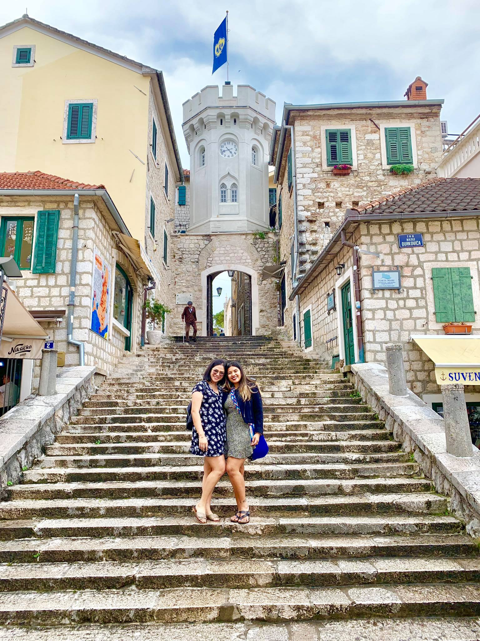 Expat Life in Montenegro Day 3 We have our first visitor already in our new home here in Herceg Novi1.jpg