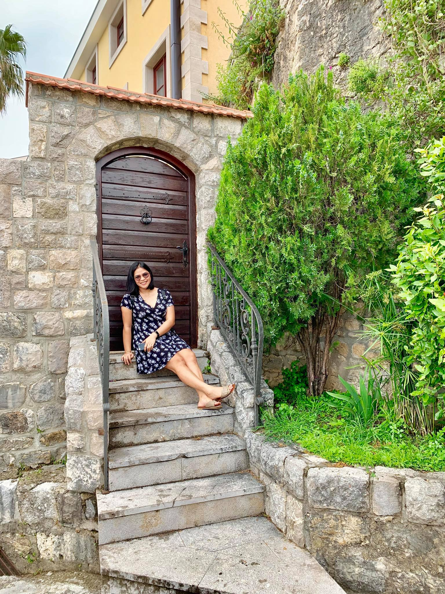 Expat Life in Montenegro Day 3 We have our first visitor already in our new home here in Herceg Novi2.jpg