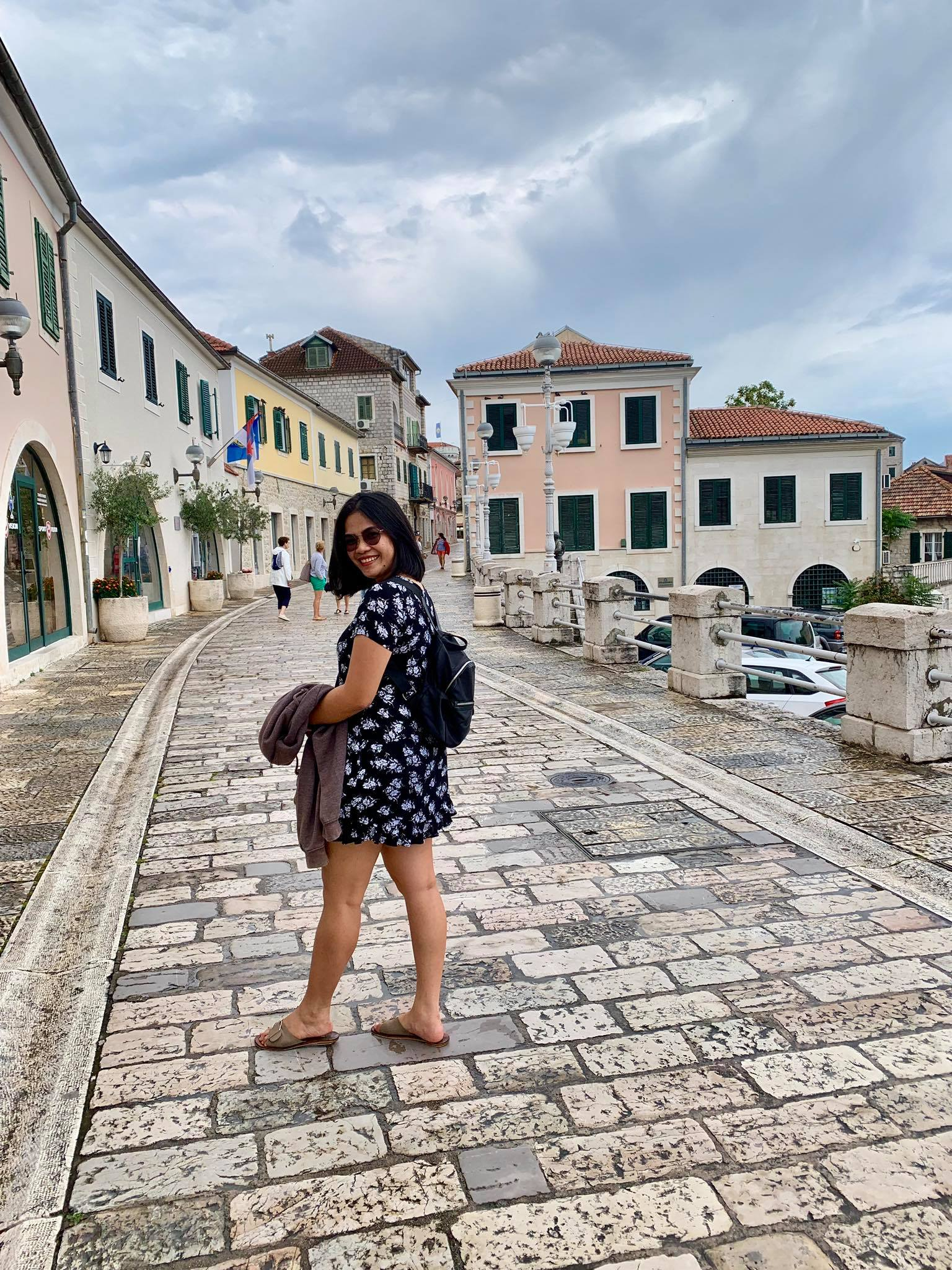 Expat Life in Montenegro Day 3 We have our first visitor already in our new home here in Herceg Novi3.jpg