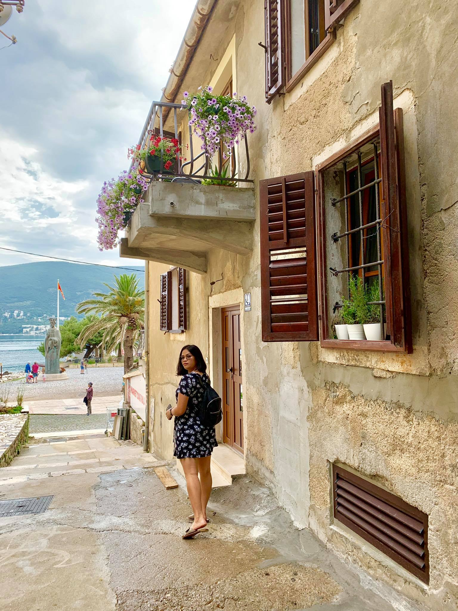 Expat Life in Montenegro Day 3 We have our first visitor already in our new home here in Herceg Novi4.jpg