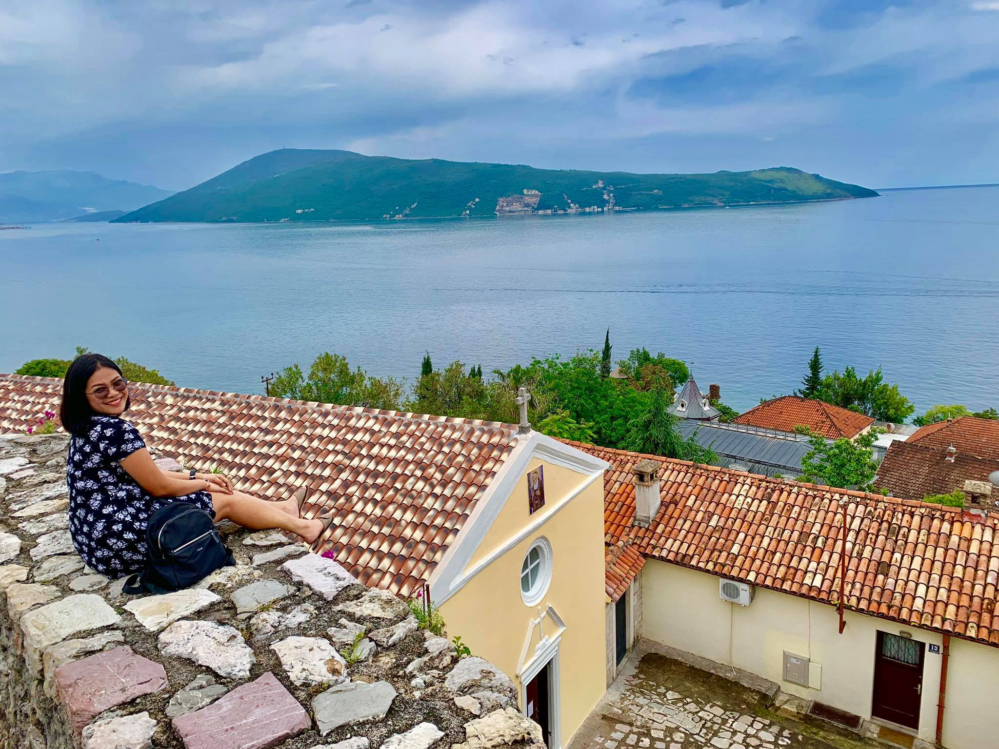 Expat Life in Montenegro Day 3 We have our first visitor already in our new home here in Herceg Novi5.jpg