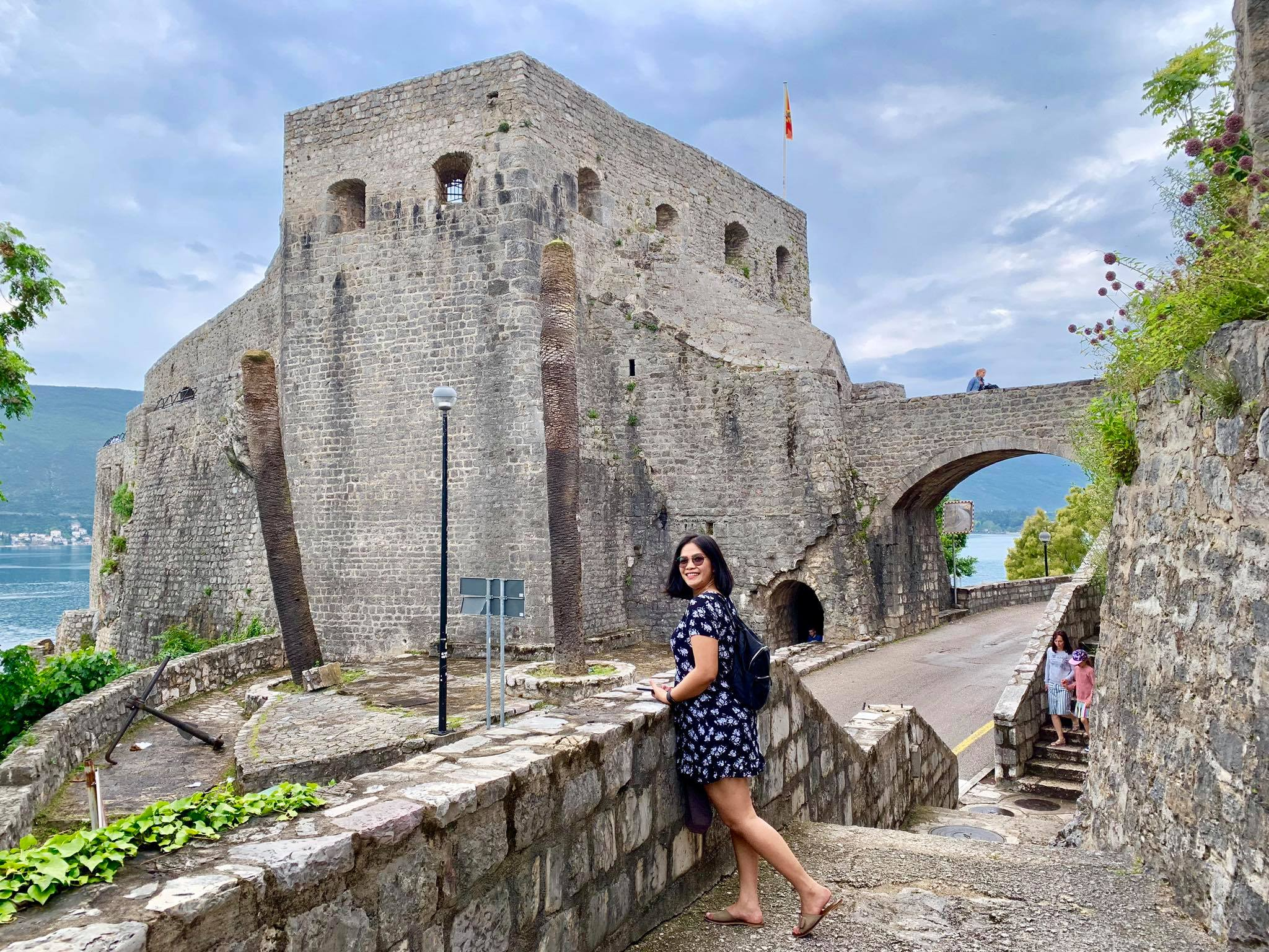 Expat Life in Montenegro Day 3 We have our first visitor already in our new home here in Herceg Novi11.jpg