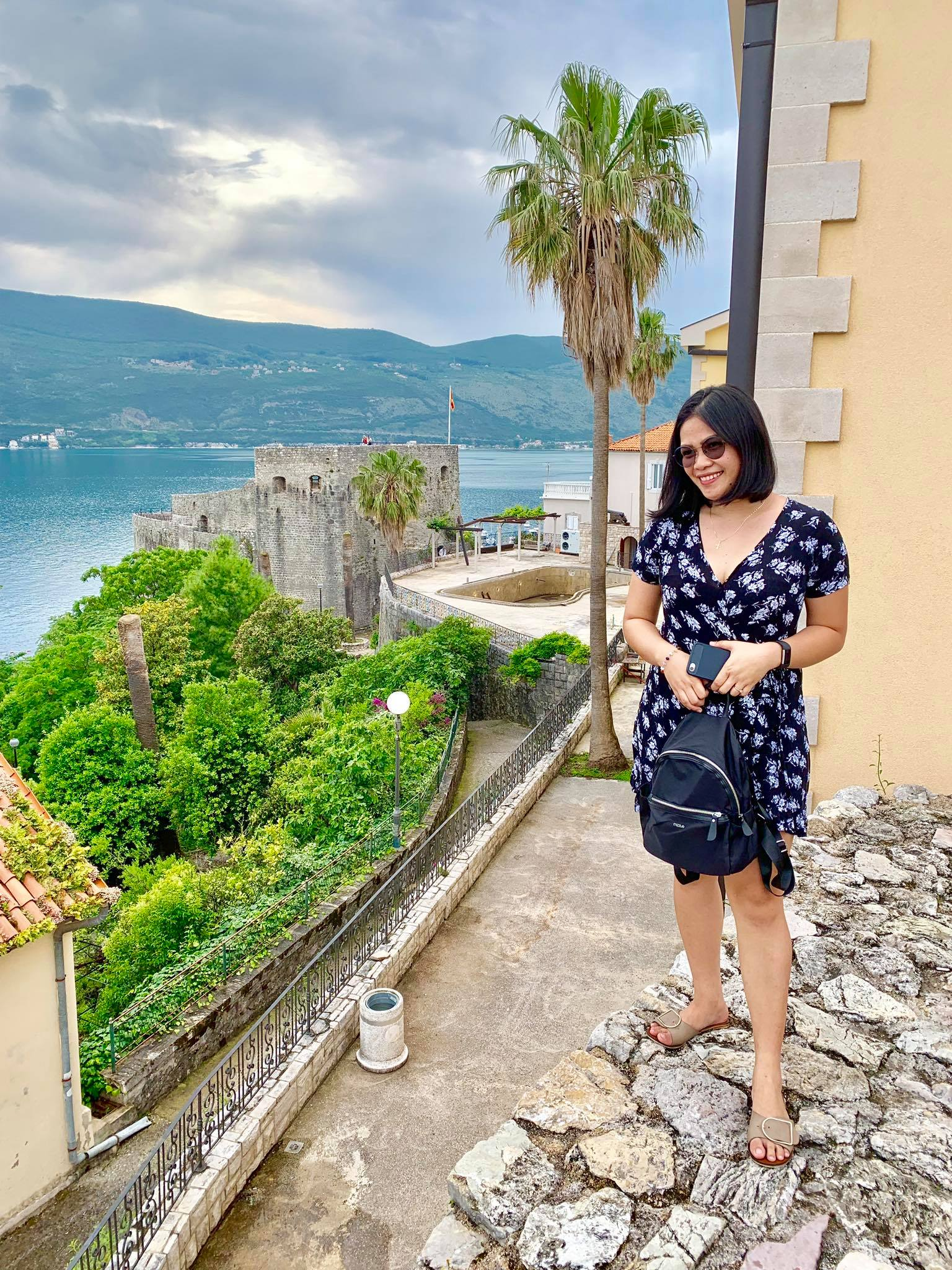 Expat Life in Montenegro Day 3 We have our first visitor already in our new home here in Herceg Novi9.jpg