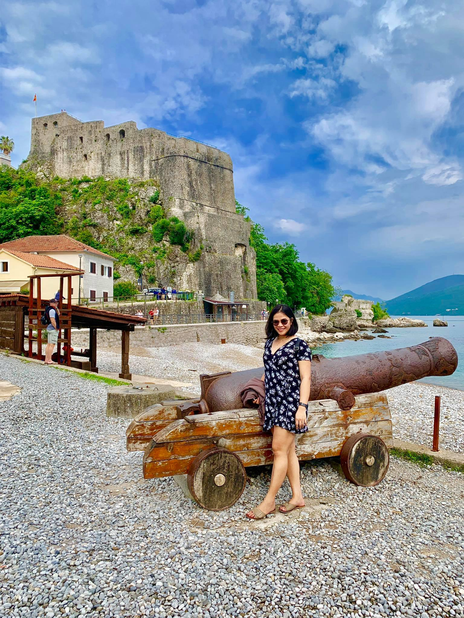 Expat Life in Montenegro Day 3 We have our first visitor already in our new home here in Herceg Novi12.jpg